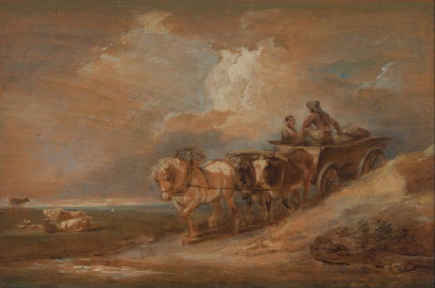 Philippe-Jacques_de_Loutherbourg_-_Landscape_with_Horse_and_Oxen_Cart_-_Google_Art_Project