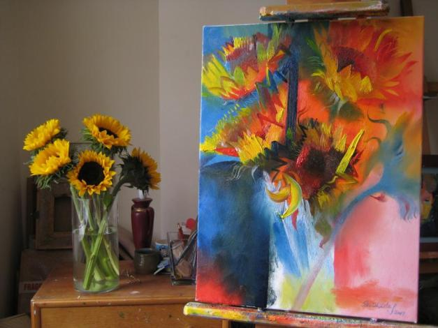 Sunflowers by Stephen B. Watley