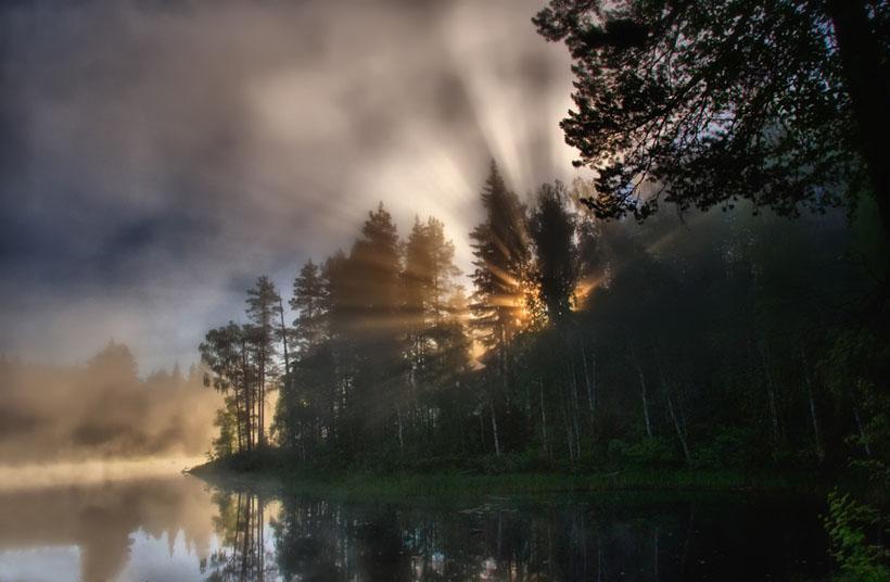 Dawn Breaks by Eugene Kurenkov