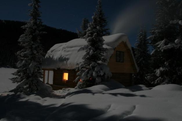 Night Cabin by Andrey Golubev